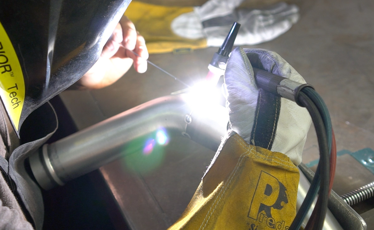 Precision Fabrication welding